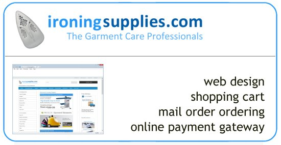 Ironing Supplies - commercial ironing equipment products store